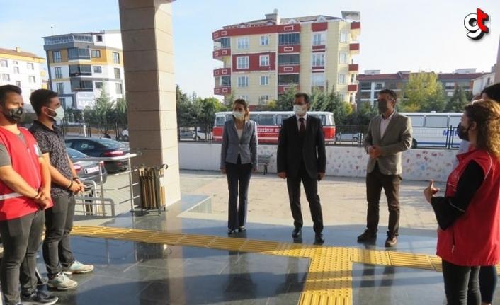 Kaymakam Güldoğan'dan kurum ziyaretleri