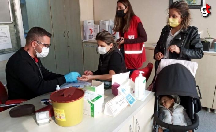 Sinop'ta kan bağışlarında artış