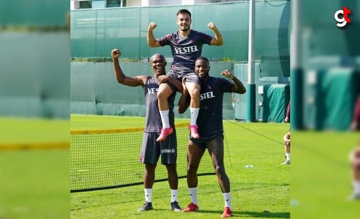 Trabzonspor, Fenerbahçe maçı hazırlıklarını sürdürüyor