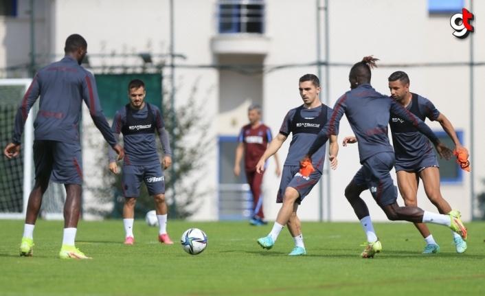 Trabzonspor Fenerbahçe mazı hazırlıklarını sürdürdü