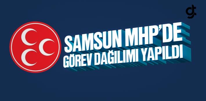 Abdullah Karapıçak'lı Samsun MHP İl Yönetiminde Görev Dağılımı Yapıldı