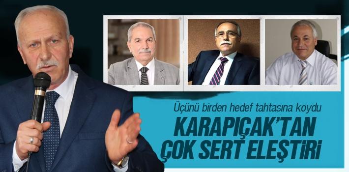 Abdullah Karapıçak, 'Sen PKK'nın Desteklediği İttifakın Adayısın'