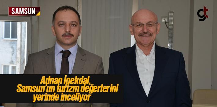 Adnan İpekdal, Terme Belediye Başkanı Şenol Kul İle Görüştü