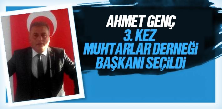 Ahmet Genç, 3. Kez Canik Muhtarlar Derneği Başkanı Seçildi