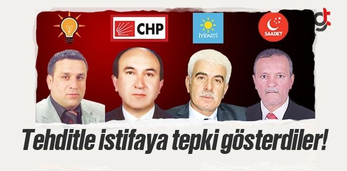 Ahmet Özata'nın Tehdit Edilerek İstifa Ettirilmesine Tepki Yağıyor