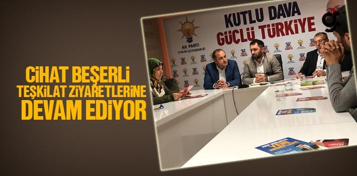 AK Parti Samsun Milletvekili Aday Adayı Cihat Beşerli Teşkilat Ziyaretlerine Devam Ediyor