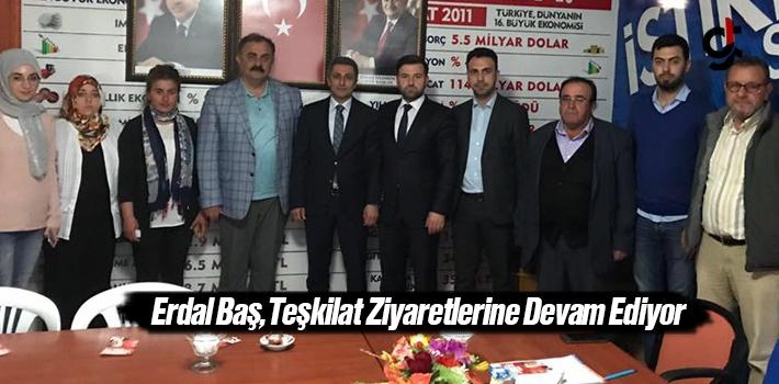 AK Parti Samsun Milletvekili Aday Adayı Erdal Baş Teşkilat Ziyaretlerine Devam Ediyor