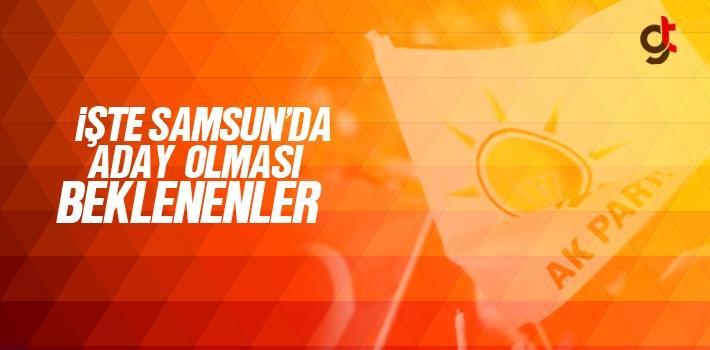 AK PARTİ Samsun'da Milletvekili Adayı Olması Beklenenler!