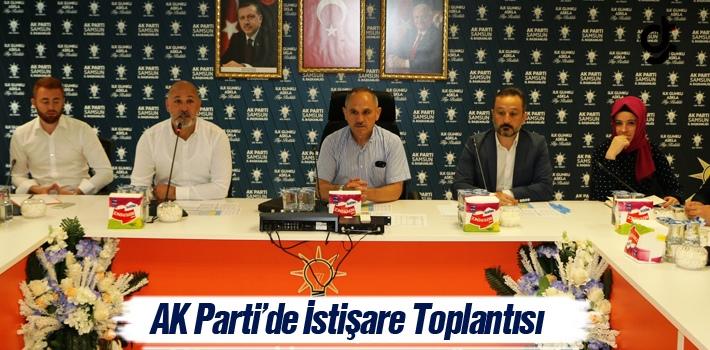 AK Parti'de İstişare Toplantısı Yapıldı