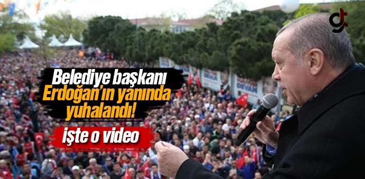 AK Partili Beykoz Belediye Başkanı Yücel Çelikbilek, Erdoğan'ın Yanında yuhalandı - Video