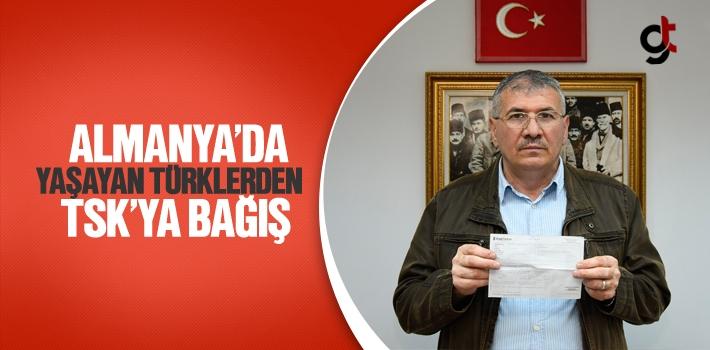 Almanya'da Yaşayan Türklerden TSK'ya Bağış