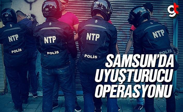 Samsun'da Sentetik Uyuşturucu Operasyonu