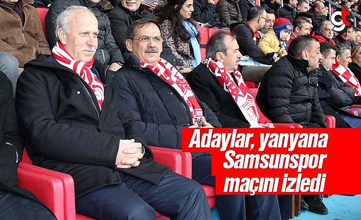 Mustafa Demir, Samsunspor Maçını İzledi