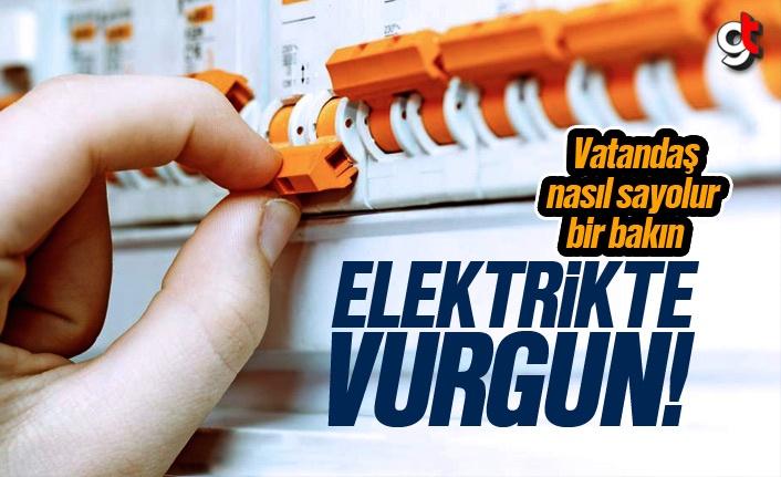 Samsun'da 5 Milyon Liralık Elektrik Açma Kapama Ücreti