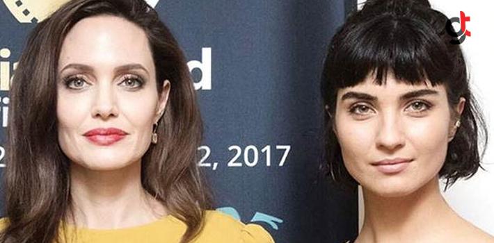 Angelina Jolie ve Tuba Büyüküstün Buluştu