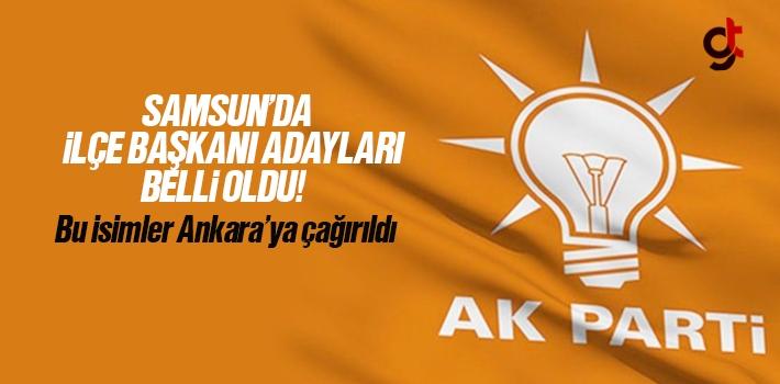 Ankara'ya Çağırılan AK Parti İlçe Başkanları Belli Oldu