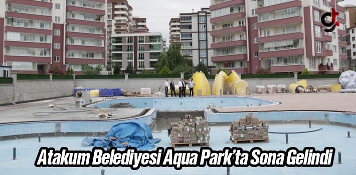 Atakum Belediyesi Aqua Park'ta Sona Gelindi