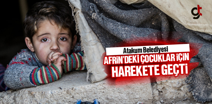 Atakum Belediyesi Hayır Çarşısı,Afrin'deki Çocuklar İçin Harekete Geçti