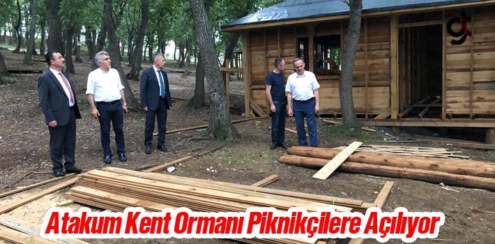 Atakum Kent Ormanı Piknikçilere Açılıyor