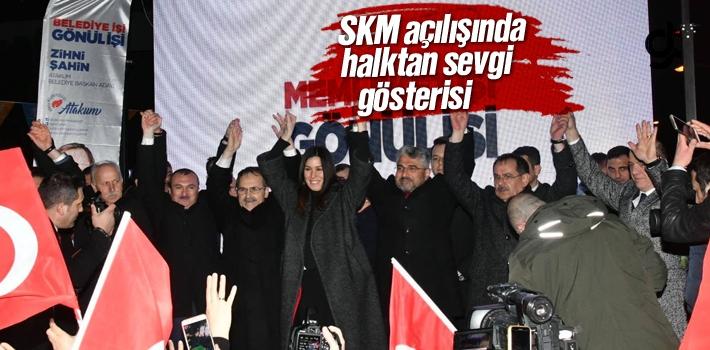 Atakum'a 'Zihni Şahin' damgası!