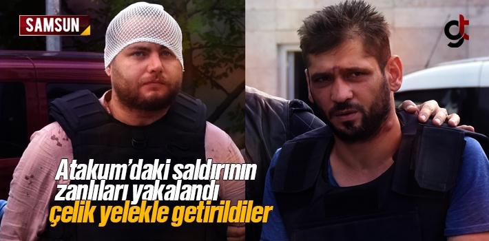 Atakum'da Kahvehane Saldırısında Zanlılar Tutuklandı