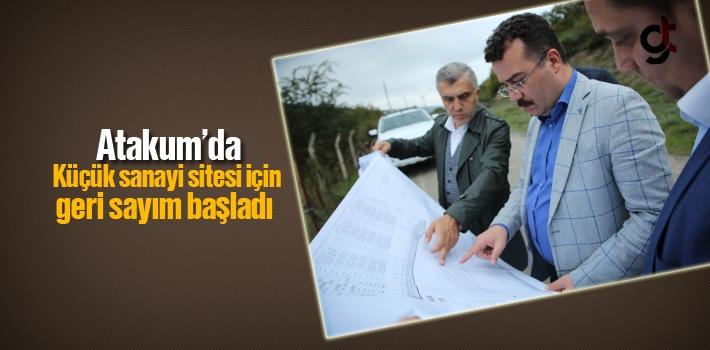 Atakum'da Küçük Sanayi Sitesi İçin Geri Sayım Başladı