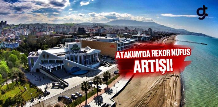 Atakum'da Rekor Nüfus Artışı!