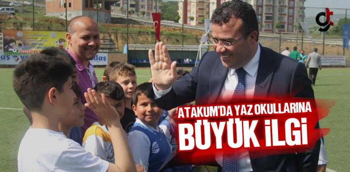 Atakum'da Yaz Okulları İlgi Büyük