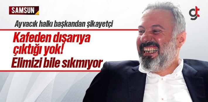 Ayvacık Halkı Mustafa Belur'dan Şikayetçi