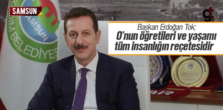 Başkan Erdoğan Tok'un Mevlid Kandili Mesajı