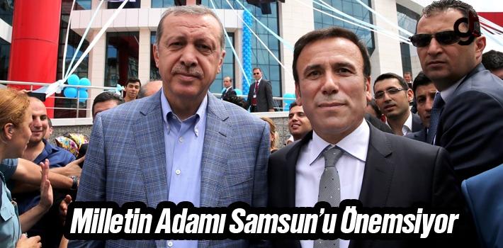 Başkan Genç, Milletin Adamı Samsun'u Önemsiyor