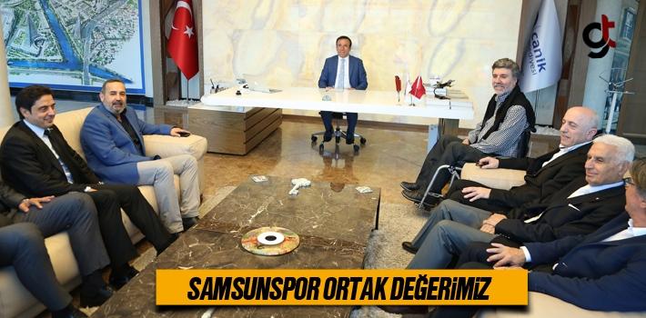 Başkan Genç, Samsunspor Ortak Değerimiz