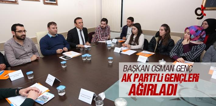 Başkan Osman Genç, Ak Parti'li Gençleri Ağırladı
