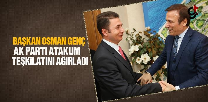 Başkan Osman Genç, AK Parti Atakum Teşkilatını Ağırladı