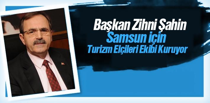 Başkan Şahin Samsun İçin Turizm Elçileri Ekibi Kuruyor