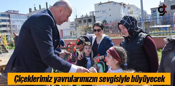 Başkan Togar, 'Çiçeklerimiz Yavrularımızın Sevgisiyle Büyüyecek'