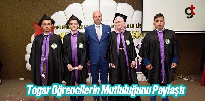 Başkan Togar Öğrencilerin Mutluluğunu Paylaştı