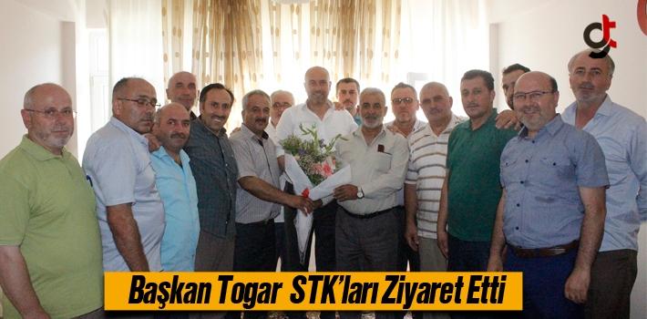 Başkan Togar, STK'ları Ziyaret Etti