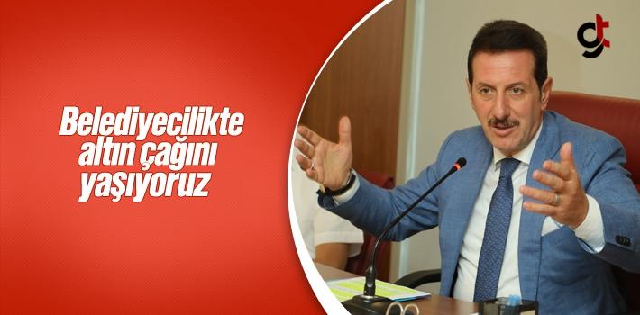 Başkan Tok, AK Belediyecilikte Altın Çağını Yaşıyoruz