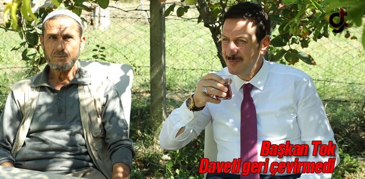 Başkan Tok'a Çay Daveti