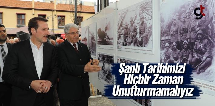 Başkan Tok,'Şanlı Tarihimizi Hiçbir Zaman Unutturmamalıyız'
