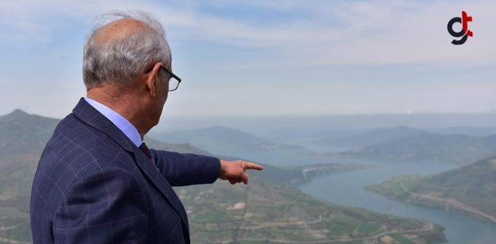 Başkan Yılmaz, Yün Dağı Yolunu Çile Olmaktan Çıkaracağız
