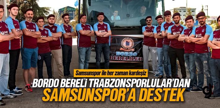 Bordo Bereliler Samsun Platformu'ndan Samsunspor'a Destek