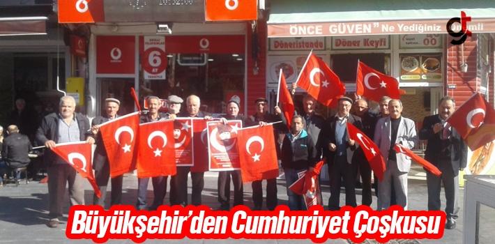 Büyükşehir'den Cumhuriyet Çoşkusu