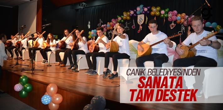 Canik Belediyesi'nden Sanata Tam Destek