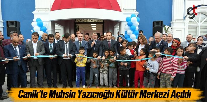 Canik'te Muhsin Yazıcıoğlu Kültür Merkezi Açıldı