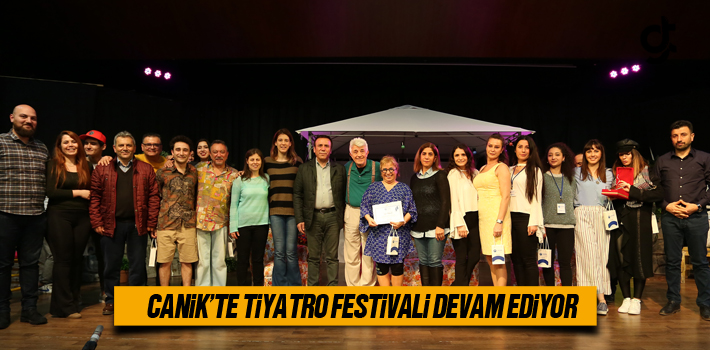 Canik'te Tiyatro Festivali Devam Ediyor