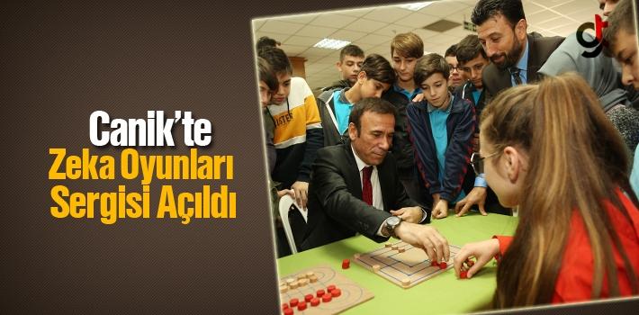 Canik'te Zeka Oyunları Sergisi Açıldı
