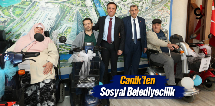 Canik'ten Sosyal Belediyecilik
