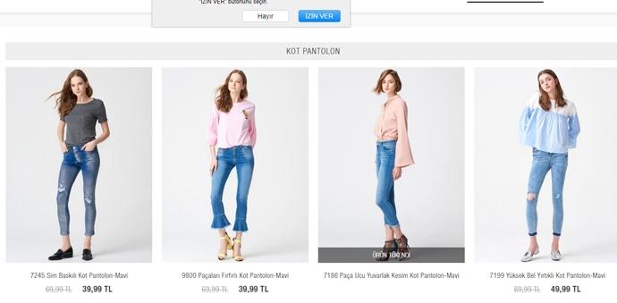 Çarpıcı Tasarımlarına Sahip Kot Pantolon Çeşitleri